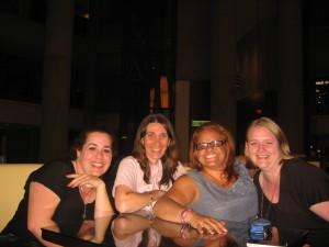 Dawn, Rhian, Ivelisse and Kelly