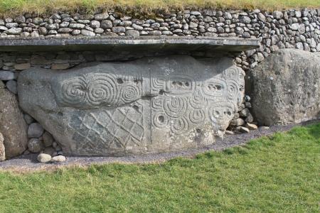 Kerb Stone at Newgrange